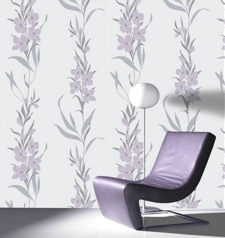 Graham & Brown Lavender Jardin Wallpaper