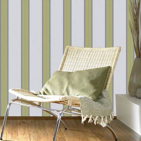 Graham & Brown Green Harlow Wallpaper