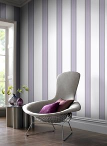 Graham & Brown Lavender Harlow Wallpaper