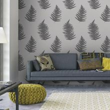 Graham & Brown Taupe Verdant Wallpaper
