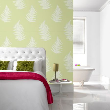 Graham & Brown Green Verdant Wallpaper