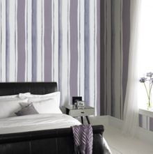 Graham & Brown Lavender Waterfall Wallpaper