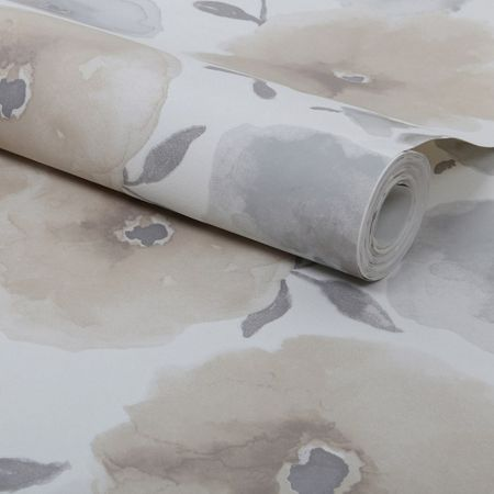 Graham & Brown Natural Poppies Wallpaper