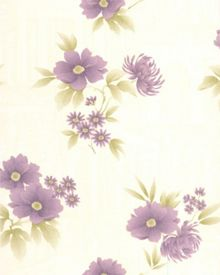 Graham & Brown Plum Rome Wallpaper
