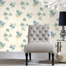 Graham & Brown Teal Rome Wallpaper