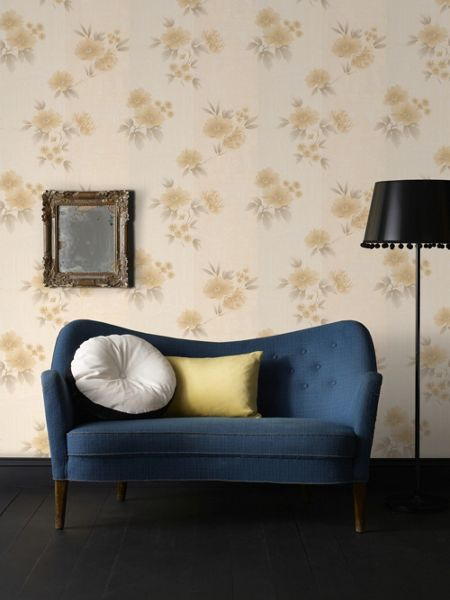 Graham & Brown Gold Rome Wallpaper