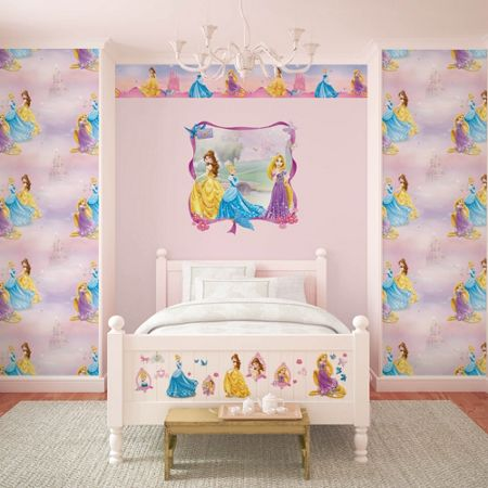 Graham & Brown Disney Pretty as a Princess Wallpaper