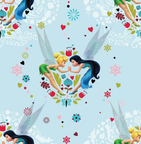 Graham & Brown Tinkerbell Pixie Promise Wallpaper