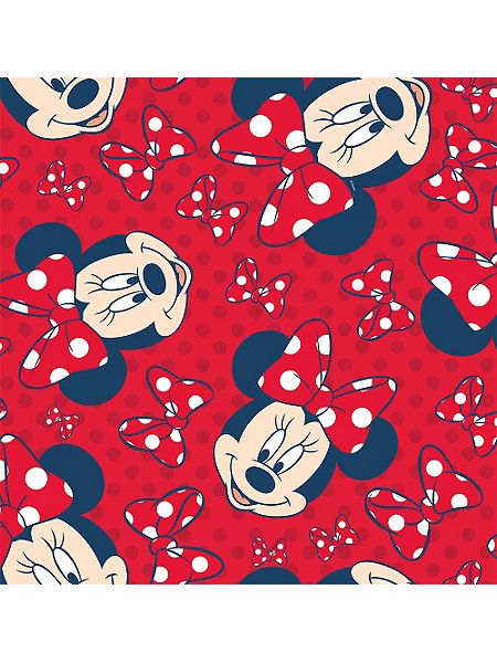 Graham Brown Minnie Mouse Red Bow Wallpaper