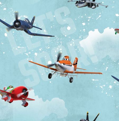 Graham & Brown Disney Planes Wallpaper