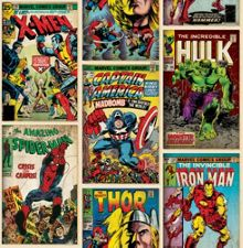 Graham & Brown Marvel Action Heroes Wallpaper