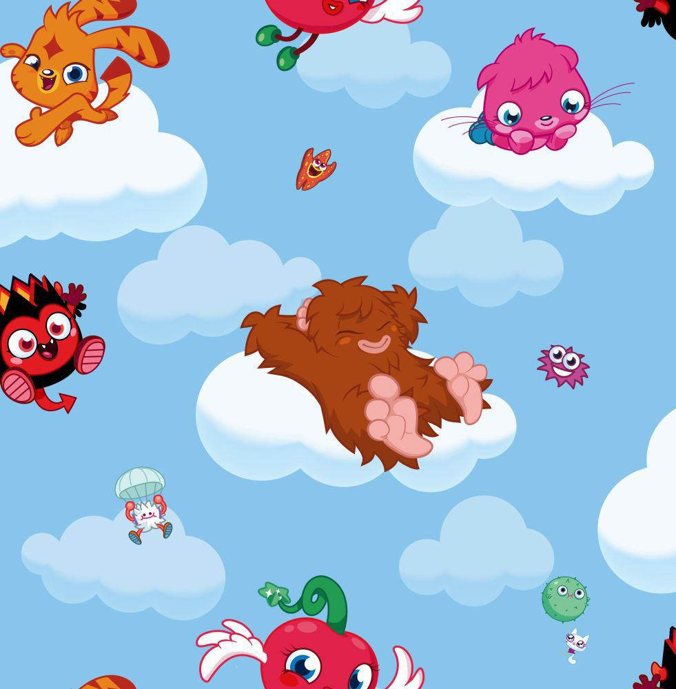 Moshi Monsters Cloud Ride Wallpaper