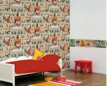 Graham & Brown Mickey Mouse Vintage Wallpaper