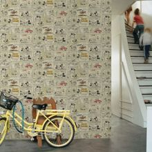 Graham & Brown Mickey Mouse and Minnies Night Out Wallpaper
