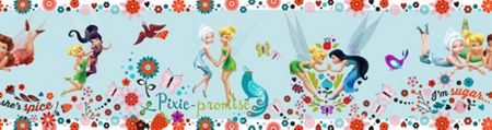 Graham & Brown Disney Tinkerbell Pixie Promise Border
