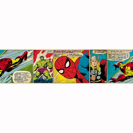 Graham & Brown Marvel Action Heroes Border