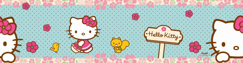 Hello Kitty Woodland Stroll Border