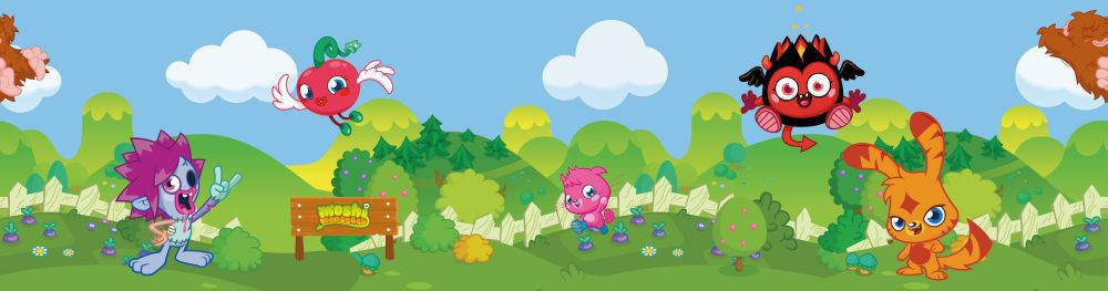 Moshi Monster Mash Up Border