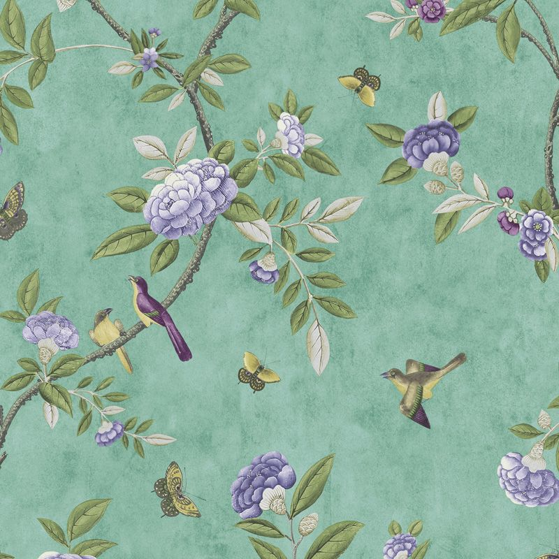 Jade Chinoiserie Wallpaper