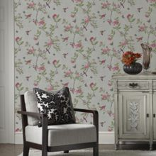 Graham & Brown Parchment Chinoiserie Wallpaper