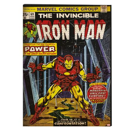 Graham & Brown Iron Man Printed Canvas