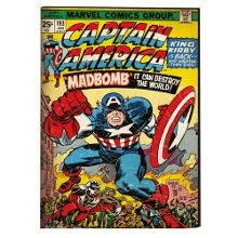 Graham & Brown Marvel Captain America Printed Canvas