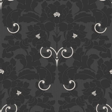 Graham & Brown Charcoal Paradise Wallpaper