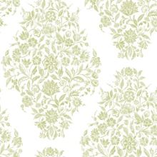 Graham & Brown Green Floribunda Wallpaper