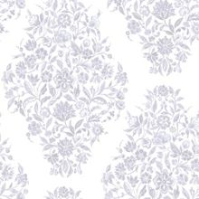 Graham & Brown Pearl Floribunda Wallpaper