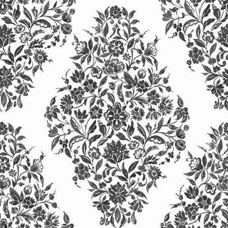 Graham & Brown White Floribunda Wallpaper