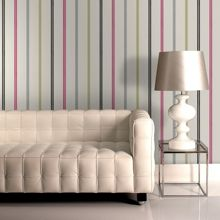Graham & Brown Green / Pink / Black Signature Wallpaper