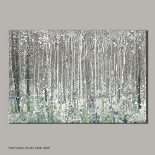 Graham & Brown Blue watercolour woods canvas wallart