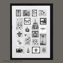 Graham & Brown Black treasured trinkets collection large photo f