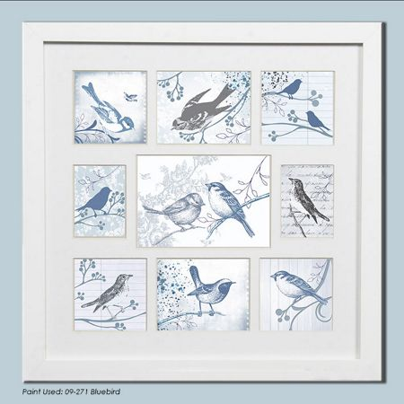 Graham & Brown White feathered friends collection small photo fr
