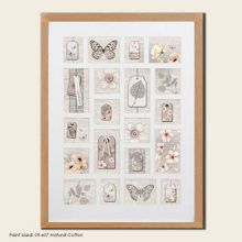 Beech botanical collection large photo frame