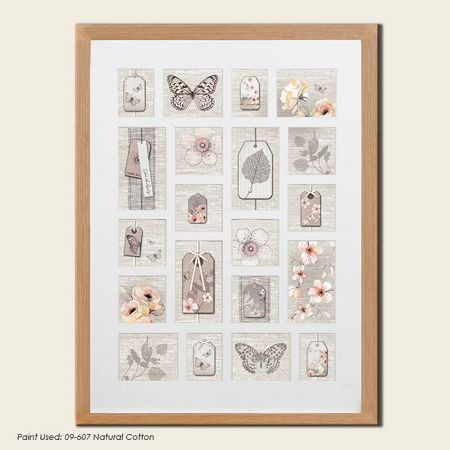 Graham & Brown Beech botanical collection large photo frame