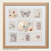 Beech botanical collection small photo frame