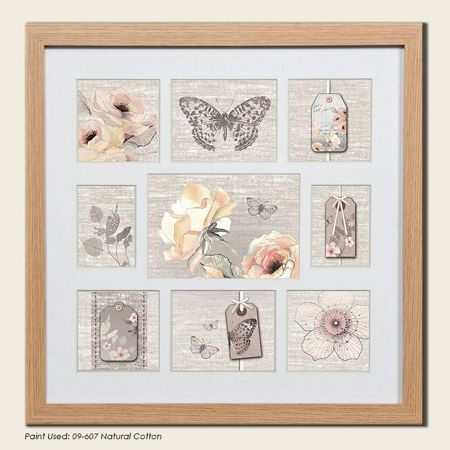 Graham & Brown Beech botanical collection small photo frame