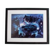 Blue peter pan film framed print