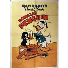 Graham & Brown Donald Duck Penguin Canvas