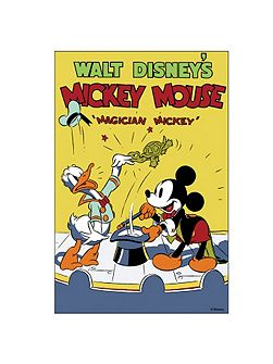 Magician Mickey Mouse Canvas