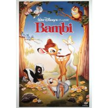 Disney Bambi 1988 Canvas