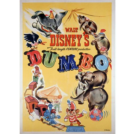 Graham & Brown Disney Dumbo 1941 Canvas