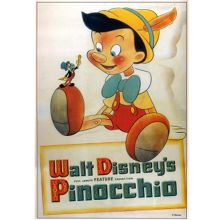 Graham & Brown Disney Pinnochio Canvas