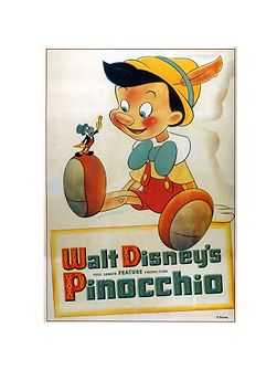 Disney Pinnochio Canvas