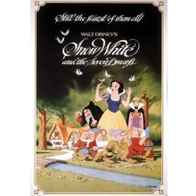Graham & Brown Disney Snow White 1983 Canvas