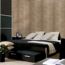 Graham & Brown Beige leopard wallpaper