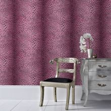 Graham & Brown Pink leopard wallpaper