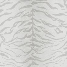 Graham & Brown White/silver tiger wallpaper