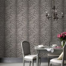 Graham & Brown Taupe tiger wallpaper